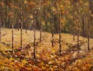 Fall Aspen 24x36 (sold) $1,500