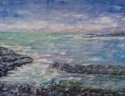 Luskentyre Beach Scotland 30x40 $1,800