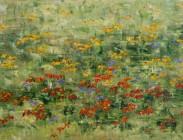 Wildflowers in the Wind III 24x48 $1,900