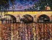 Le Pont Neuf 18x24 $825.00 .