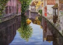 Brugges Reflection 24x36 $2,300 (sold)