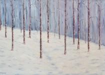 Winter Aspen 24x36 $1,500