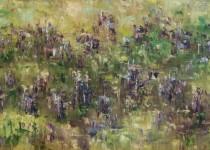 Penstemon in the Wind 12x24 $575 (sold).