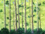 Spring Aspen 36x36 $2,100 (sold)