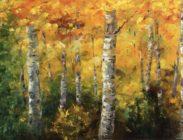 Fall Aspen 24x48 $2,100