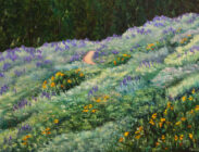 The Lupine Trail 30x40 $2,700