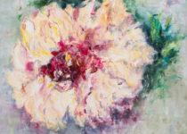 Wild Rose 30x30 $1,300