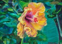 Hanalei Hibiscus 6x8 $275.