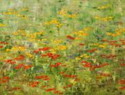 Wildflowers in the Wind Series 24x48 $2,100