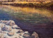 Slate River Reflections
