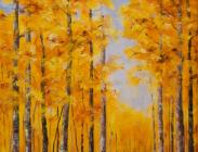 Crested Butte Fall Road 24x18 $875