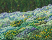 The Lupine Trail 36x48 $3,800