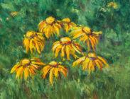 Cynthias Sneeze weed 16x16 $675