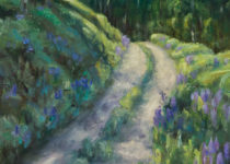 Between the Lupine 6x8 $295 (sold)