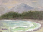 Chesterman Beach, Tofino 6x8 $295