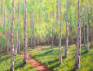 Spring Greens on Upper Loop 30x30 $1,300