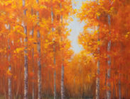 Crested Butte Fall Road 40x30 $1,900