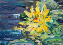 Yellow Lily 5x7 $175