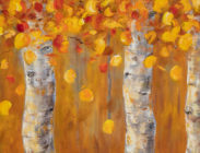 Fall Aspen on Upper Loop 20x60 $2,400