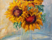 Sunflower I 6x8 $65 (Metal Print)