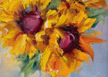 Sunflower II 6x8 $65 (Metal Print)